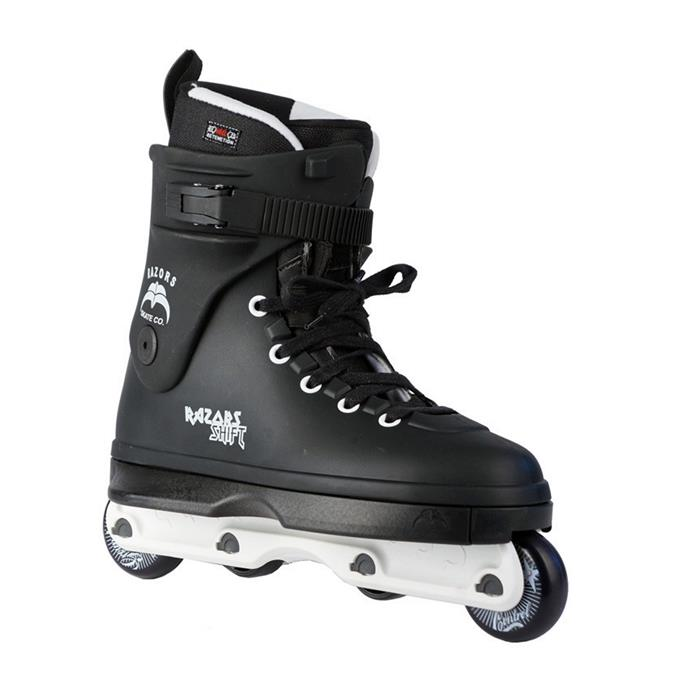 roller-en-ligne-street-agressif-razors-skates-shift-black-white