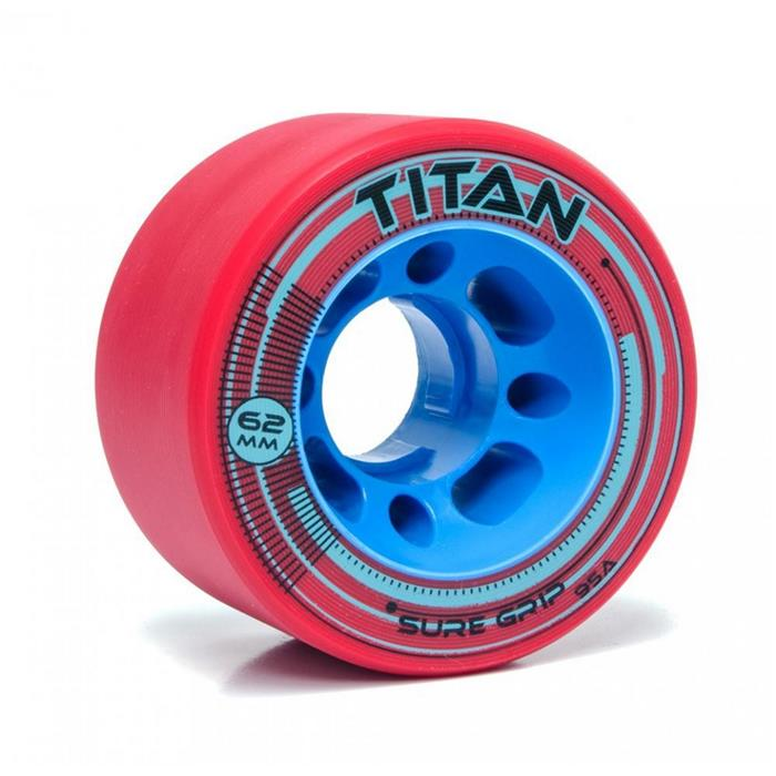 roues-roller-derby-sure-grip-wheels-titan-95a-red