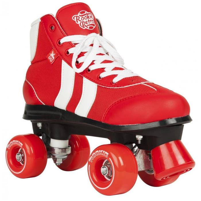patin-complet-roller-quad-rookie-rollerskates-retro-v2-red-white-roller-quad