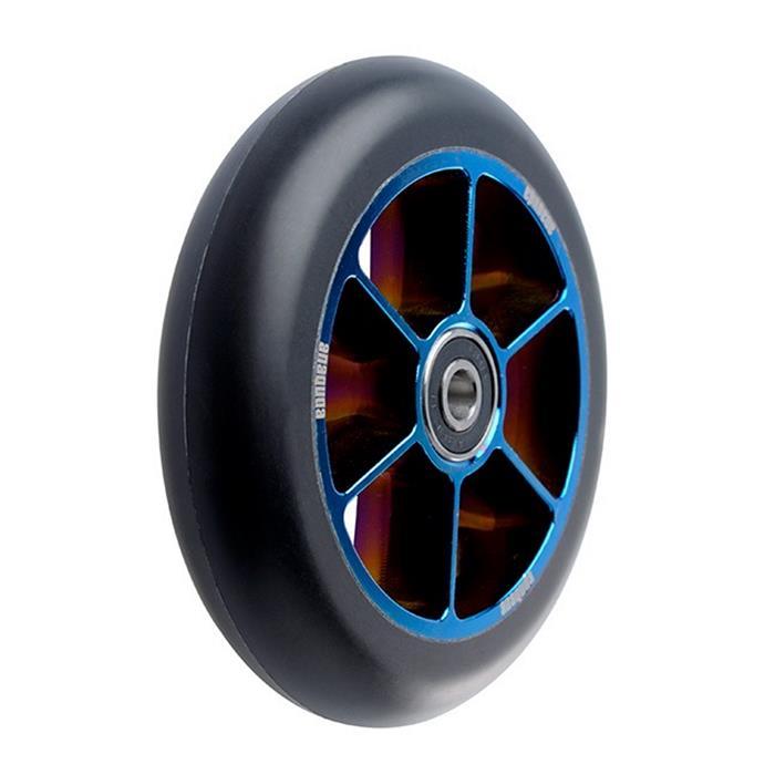 YOBAIH Roue Trotinette Freestyle 2pcs 110mm Stub Scooter Roues Roues de Rechange avec Accessoires de Scooter per Roulet Pro
