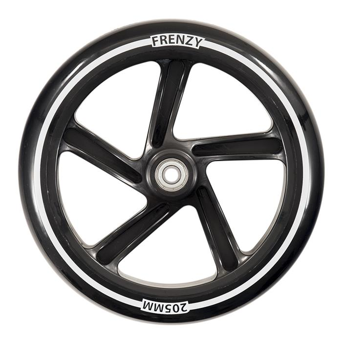 roue-trottinette-frenzy-wheels-205mm-black