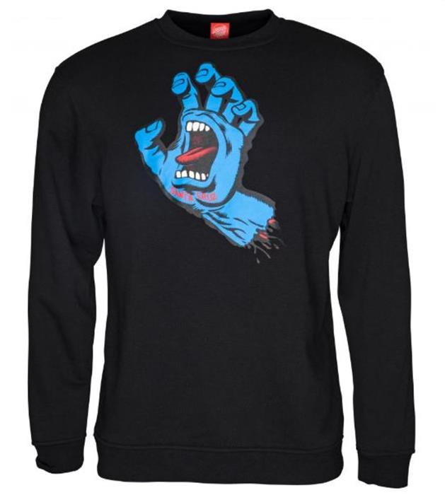 sweatshirt-santa-cruz-crew-screaming-hand-dark-black-noir