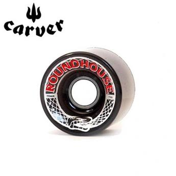 Pack de 4 Roues ROUNDHOUSE SMOKE CARVER Taille 70mm/78A