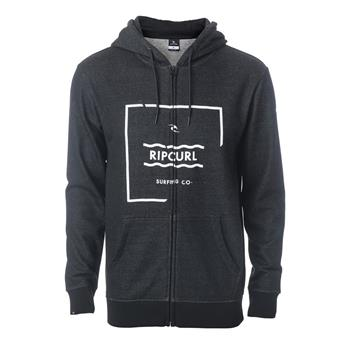 Sweat ZIP à Capuche BROKEN SQUARE  FLEECE RIP CURL 90 Black