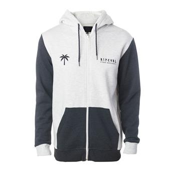 Sweat ZIP à Capuche SLAM FLEECE RIP CURL 9250 White Marle