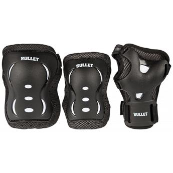 Set de Proprotection complet JUNIOR BULLET Noir/Blanc