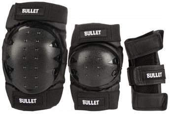Set de protection complet Roller Junior BULLET  Combo Padset Junior Noir