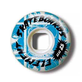 Roue Skateboard ELEMENT Wheels Rocksteady Street 52mm Bleu