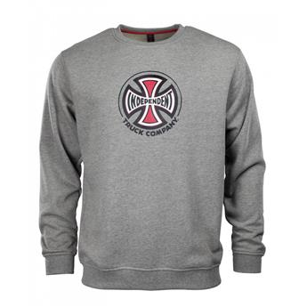 Sweatshirt INDEPENDENT  Sweatshirt Crew Truck Co Dark Heather Gris