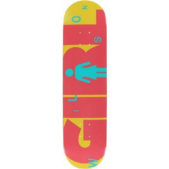 Plateau Skateboard GIRL SKATEBOARDS  Deck Advertype Wilson 7.8´´ Noir