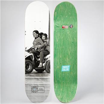 Plateau Skateboard SWEET SKATEBOARDS Deck Photo Daniel Spangs 8.125´´