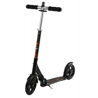 Trottinette Adulte MICRO Black Interlock Noir