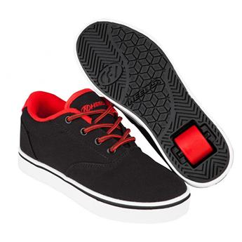 Chaussures à roulettes HEELYS Launch Black/Black Red