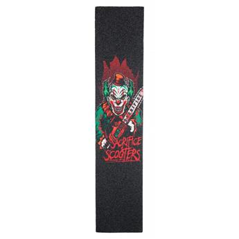 Grip Trottinette SACRIFICE Grippy-Grip Crazy Clown Noir