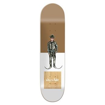 Plateau Skateboard CHOCOLATE Deck Everyday People Perez 8.25 X 32
