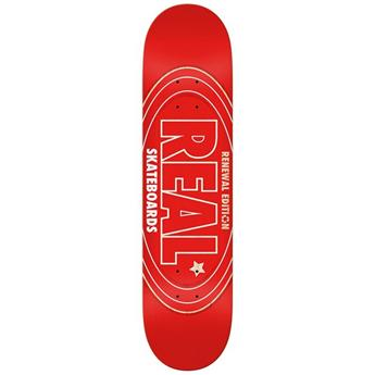 Plateau Skateboard REAL SKATEBOARDS  Deck Pp Renewal Oval 8.5 X 32.18