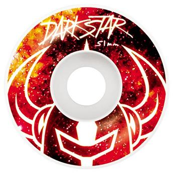 Roue Skateboard DARKSTAR Wheels  Jeu De 4  Mystic Red 51mm