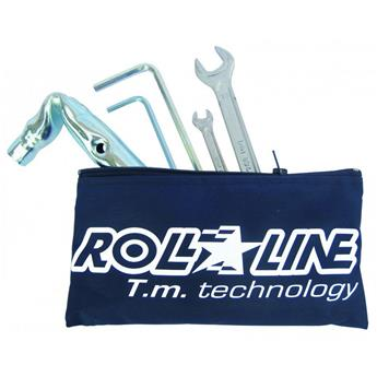 Outil Roller ROLL LINE Kit Professional Wrenches Bleue