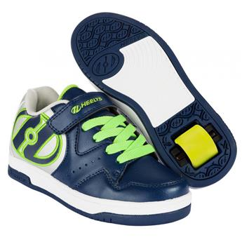 Chaussures à roulettes HEELYS Hyper Navy/Silver/Green