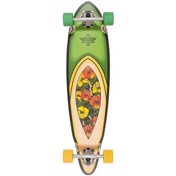 DUSTERS CALIFORNIA Complete Longboard Flora Purple Green 37.5
