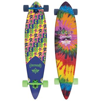 DUSTERS CALIFORNIA Complete Longboard Grateful Dead Bears 42 Multi