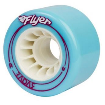 Roue Roller Quad RADAR WHEELS Flyer Blue