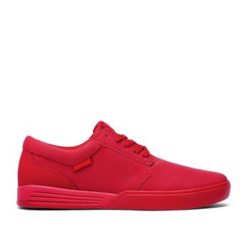 Chaussure SUPRA  Hammer Red Red  Rouge