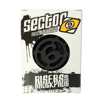 Pads Longboard SECTOR 9 Rubber Shock Pads 1/8´´