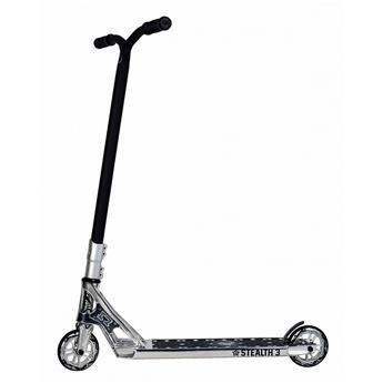 Trottinette Freestyle AO SCOOTERS Stealth 3 Chrome Complete Argent