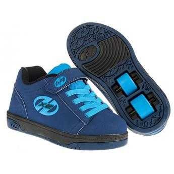 Chaussures à roulettes HEELYS X2 Dual Up Navy/New Blue