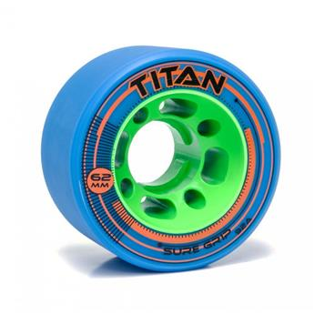 Roues Roller Derby SURE GRIP Wheels Titan 92A Blue