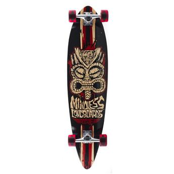 Skate Longboard complet MINDLESS LONGBOARDS Rogue II Red Black Rouge
