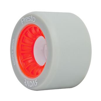 Roues Roller Derby RADAR WHEELS Presto White Red 93A