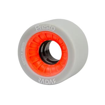 Roues Roller Derby RADAR WHEELS Presto Black Red 93A