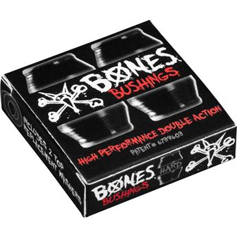 Bushing Skateboard BONES  Bushings  Jeu De 4 Gommes  Hard Black