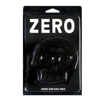 Wax Skateboard ZERO SKATEBOARDS  Wax Skull Black