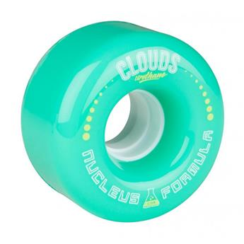 Roue Roller Quad CLOUDS URETHANE Nucleus 78A Mint Green Mint/White