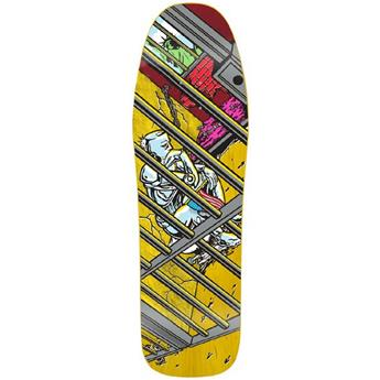 Plateau Skateboard PRIME Deck World Industries Martinez Jailed Liberty 9.8 X 31