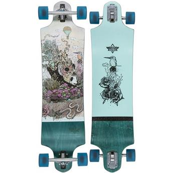 DUSTERS CALIFORNIA Complete Longboard Giant 38 Green