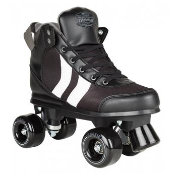 Patin complet Roller Quad  ROOKIE ROLLERSKATES Deluxe Black White