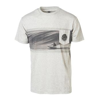 T-Shirt RIP CURL ACTION ORIGINAL TEE 4880 Cement Marle
