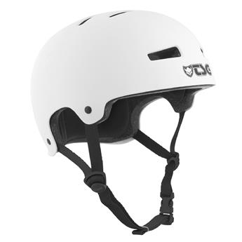 Casque TSG TECHNICAL SAFETY GEAR  Evolution Solid Colors Helmet Blanc