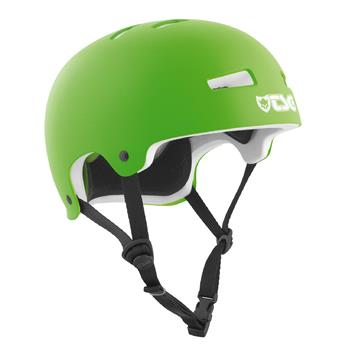 Casque TSG TECHNICAL SAFETY GEAR  Evolution Solid Colors Helmet Satin Lime