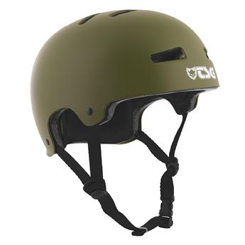 Casque TSG TECHNICAL SAFETY GEAR  Evolution Solid Colors Helmet Olive