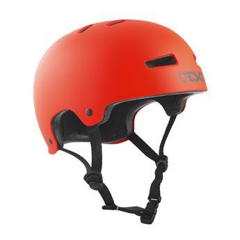 Casque TSG TECHNICAL SAFETY GEAR  Evolution Solid Colors Helmet Satin Orange