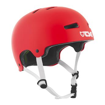 Casque TSG TECHNICAL SAFETY GEAR  Evolution Solid Colors Helmet Rouge