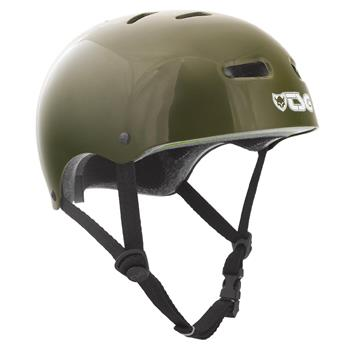 Casque TSG TECHNICAL SAFETY GEAR  Skate/Bmx Injected Colors Helmet Olive