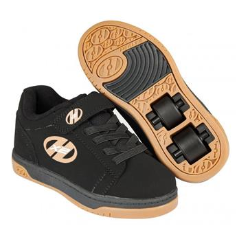 Chaussures à roulette HEELYS Dual Up (770582) Black/Gum