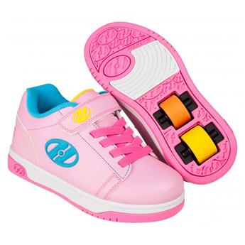 Chaussures à roulette HEELYS Dual Up X2 (HE100148) Light Pink/Hot Pink/Neon Multi