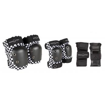 Set de protection PRO-TEC Street Gear Junior 3 Pack Checker